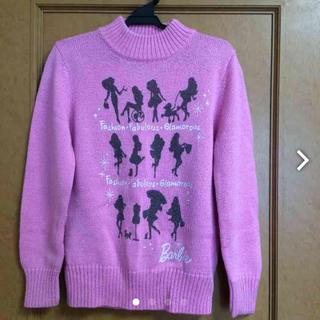 バービー(Barbie)のバービー140  女児セーター(ニット)