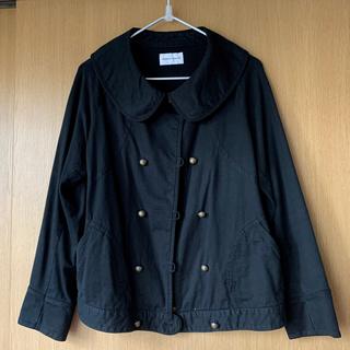 ツモリチサト(TSUMORI CHISATO)のツモリチサト 丸襟ジャケット 美品(ブルゾン)