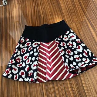 レッドヴァレンティノ(RED VALENTINO)のレッドバレンティノスカート(ミニスカート)