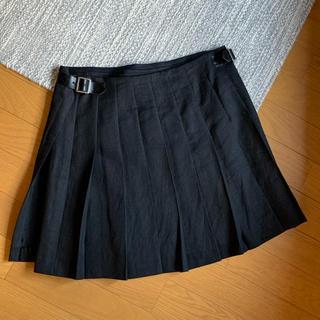 コムデギャルソン(COMME des GARCONS)のジュンヤワタナベコムデギャルソン プリーツラップスカート 新品同様(ミニスカート)