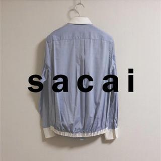 サカイ(sacai)のsacai 13ss シャツ ブルゾン サイズ1(ブルゾン)