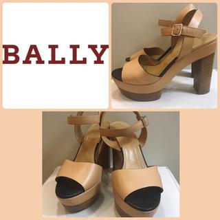 Bally - BALLY ベージュレザー  サンダル