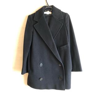 ステラマッカートニー(Stella McCartney)のステラマッカートニー コート ブラック(チェスターコート)