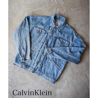 カルバンクライン(Calvin Klein)のデニムジャケット(Calvin Klein)(Gジャン/デニムジャケット)