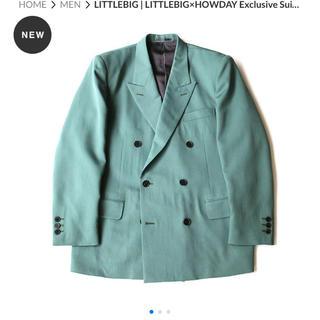 ジョンローレンスサリバン(JOHN LAWRENCE SULLIVAN)の LITTLEBIG×HOWDAY Exclusive Suit:Green(セットアップ)