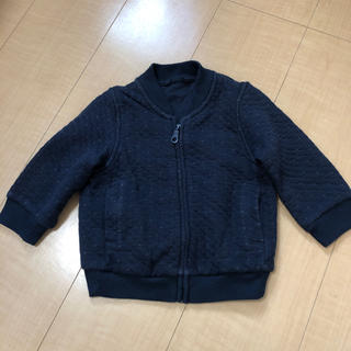 UNIQLO - ユニクロ 80 トレーナー パーカー 羽織り 中綿