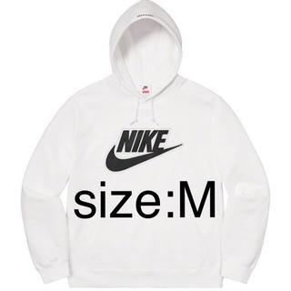 シュプリーム(Supreme)のNike Leather Appliqué Hooded Sweatshirt(パーカー)