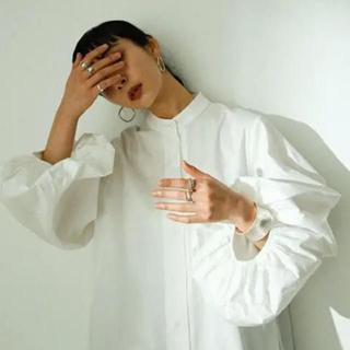 スタイルナンダ(STYLENANDA)のボリュームスリーブ ワンピ stylemixer 新品未使用(ロングワンピース/マキシワンピース)