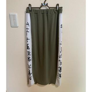 アナップ(ANAP)のANAP スリット入りタイトスカート(ロングスカート)