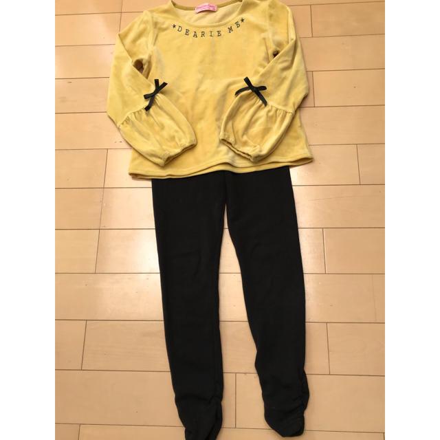 しまむら(シマムラ)のramune821様 ピンキーガールズガールズ コラボ カットソー 150cm キッズ/ベビー/マタニティのキッズ服女の子用(90cm~)(Tシャツ/カットソー)の商品写真