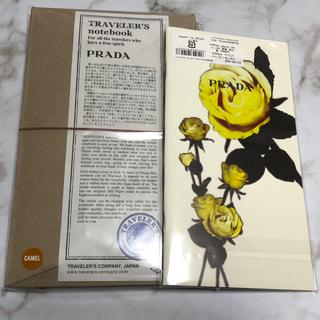 プラダ(PRADA)のトラベラーズノート PRADA キャメル リフィルセット(ノート/メモ帳/ふせん)