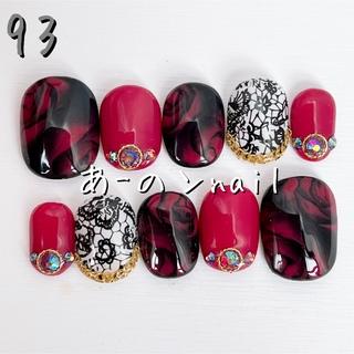 送料&カラー変更1色無料«93»ジェルネイルチップ♡*゜(つけ爪/ネイルチップ)