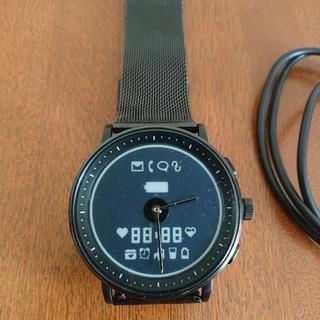 E-ink スマートウォッチ GLIGO WATCH  日本製クォーツ使用(腕時計(デジタル))