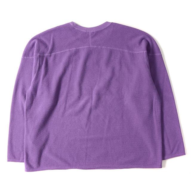 SUNSEA(サンシー)のURU ラッチパイルコットンロングスリーブカットソー メンズのトップス(Tシャツ/カットソー(七分/長袖))の商品写真