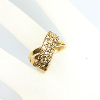 k18 ダイヤモンドリング 11.5号 指輪 ダイヤ リング 1.02ct(リング(指輪))