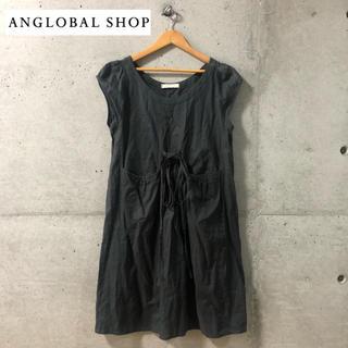 アングローバルショップ(ANGLOBAL SHOP)の【ANGLOBAL SHOP】デザインワンピース 36(ひざ丈ワンピース)
