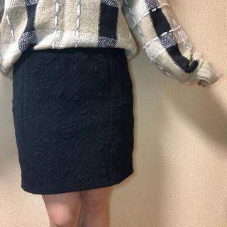 ページボーイ(PAGEBOY)のページボーイ 厚手生地ミニスカート(ミニスカート)