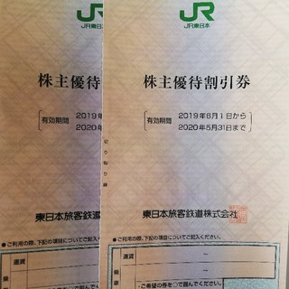 JR東日本 株主優待券 2枚(その他)