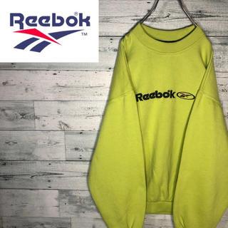 リーボック(Reebok)の【ネオンカラー】リーボックreebok☆刺繍ビッグロゴスウェット M0840(スウェット)