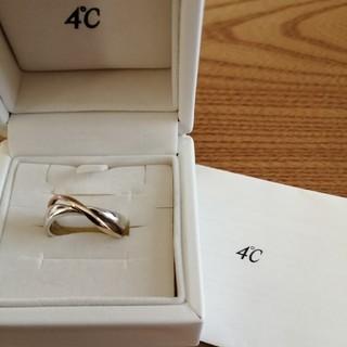 ヨンドシー(4℃)の4℃シルバー&K10 リング(リング(指輪))