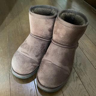 ナチュラルビューティーベーシック(NATURAL BEAUTY BASIC)のムートンブーツ Mサイズ(ブーツ)