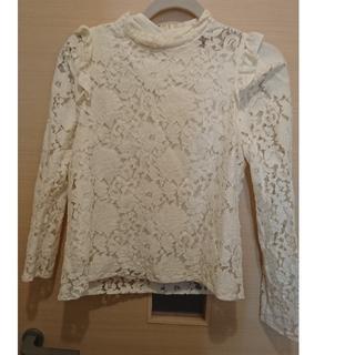 アンドクチュール(And Couture)のれもんぱすた様専用ホワイト3wayブラウス(シャツ/ブラウス(長袖/七分))