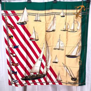 Ralph Lauren - 希少 美品 92年 RL ラルフローレン オリンピック スカーフ 正規品