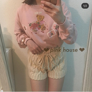 ピンクハウス(PINK HOUSE)のピンクハウス くまさん スウェット(トレーナー/スウェット)