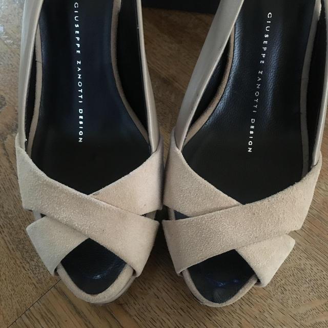 GIUZEPPE ZANOTTI(ジュゼッペザノッティ)のジュゼッペザノッティ☆確認用ページ レディースの靴/シューズ(ハイヒール/パンプス)の商品写真