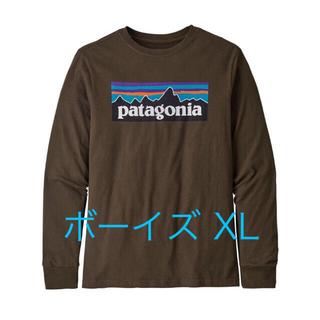 パタゴニア(patagonia)のパタゴニア ロングスリーブ ブラウン XL(Tシャツ(長袖/七分))