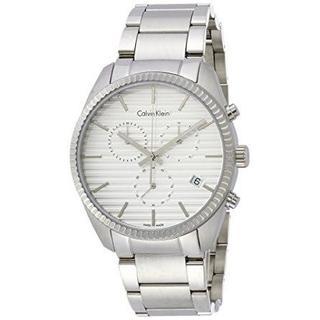 Calvin Klein - 送料無料 カルバンクライン アライアンスクロノグラフ腕時計 K5R37146