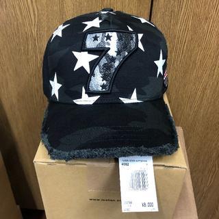 ヨシノリコタケ(YOSHINORI KOTAKE)の渋野日向子 着用 ヨシノリコタケ 迷彩7 キャップ 帽子(キャップ)