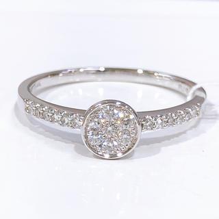 K14WG ダイヤモンド リング(リング(指輪))