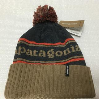 パタゴニア(patagonia)の新品❣️極暖❣️パタゴニア ニット帽 ビーニー☆(ニット帽/ビーニー)