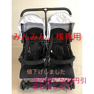 ニホンイクジ(日本育児)の二人乗りベビーカー(ベビーカー/バギー)