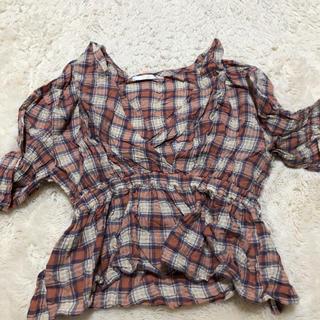 RETRO GIRL - チェックTシャツRETORO GIRL