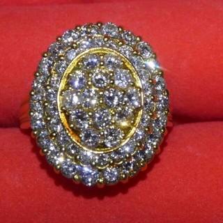 超豪華!2カラットダイヤモンドリング(リング(指輪))