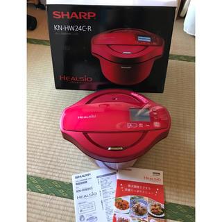 SHARP - シャープ ヘルシオ ホットクック 2.4L 無水鍋 KN-HW24E-R