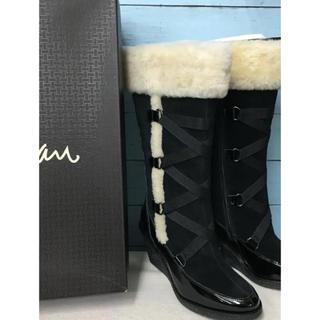 Cole Haan - 未使用 コールハーン  ロングブーツ 23 革靴 ナイキエア ウオータープルーフ