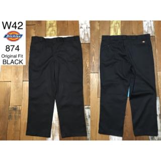 Dickies - 39638 アメリカ 輸入 USED ディッキーズ 874 ブラック W42