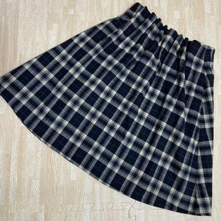 ページボーイ(PAGEBOY)の【美品】alicia PAGEBOY  チェック柄スカート(ひざ丈スカート)