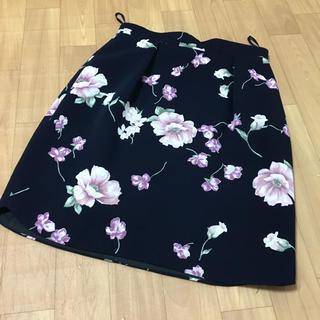Rirandture - 【お値下げ不可】リランドチュール  スカート 0 ブラック 花柄スカート
