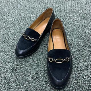 トゥモローランド(TOMORROWLAND)のsezane ローファー レザー スウェード(ローファー/革靴)