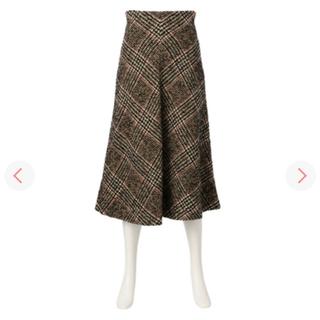 バーニーズニューヨーク(BARNEYS NEW YORK)のmuller of yoshiokubo ウールスカート(ロングスカート)