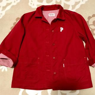 ピンクハウス(PINK HOUSE)のヤースーさま専用❣️ピンクハウス赤ジャケット(Gジャン/デニムジャケット)