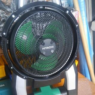 ヒタチ(日立)の【日立工機】コードレスファン 充電式丸のこ 産業用扇風機(その他)