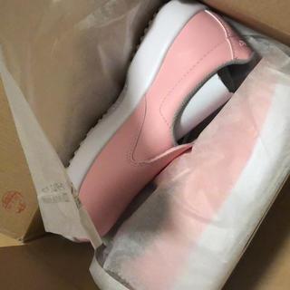 ミドリアンゼン(ミドリ安全)のミドリ安全 ピンク 作業靴(その他)