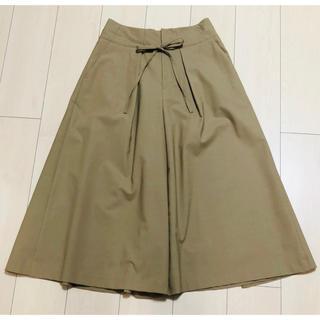 カリテ(qualite)のqualite スカート見え キュロットパンツ 38サイズ(クロップドパンツ)