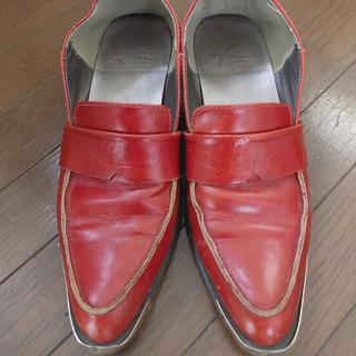 アメリヴィンテージ(Ameri VINTAGE)のAmeri ゴールドプレートローファー(ローファー/革靴)