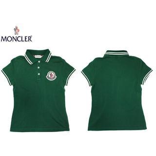 モンクレール(MONCLER)の国内正規品MONCLERモンクレール ポロシャツ/グリーンXS(ポロシャツ)